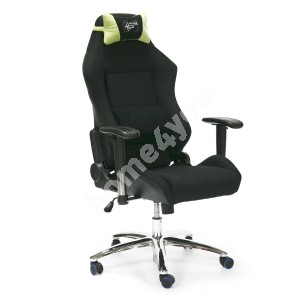 Task chair RECARO 67xD64xH118-130cm, seat and back rest: fabric, color: black