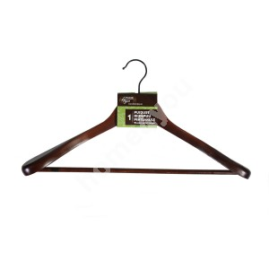 Cloth hanger for jacket 45x16x6cm, dark wood