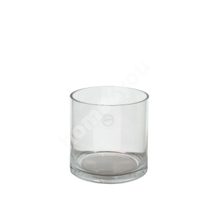 Vase IN HOME D15xH15cm, clear glass