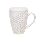 Kruus LUME, 280ml, kärg-disain, valge läbikumav glasuur