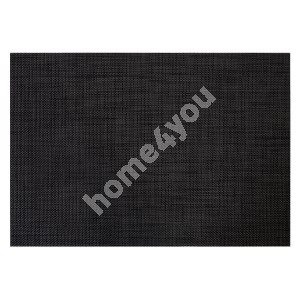 Table mat TEXTILINE 30x45cm, black