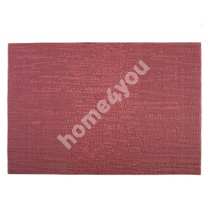 Placemat TEXTILINE 30x45cm, red