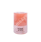 Свеча FRESH CRANBERRY, D6,8xH9,5cм, розовая ( аромат - клюква )