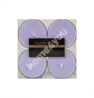 Teeküünlad MAXI 4tk/pakis, RELAXING LAVENDER, D5.5cm, lilla ( lõhn- lavendel)