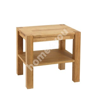 Öökapp/laud CHICAGO NEW, 50x40xH45cm, riiuliga, puit: tammespoon/MDF, värvus: naturaalne, viimistlus: õlitatud