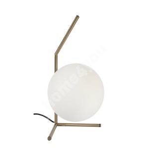 Laualamp KAPPA, D20xH40cm, valge kera/ metall jalg