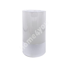 Свеча LUXO D6.8xH12см, белый металлик ( без аромата)