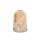 Vaas BELLA, D13xH18cm, kuldne klaas