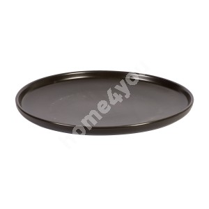 Dinner plate HERO, D25cm, black