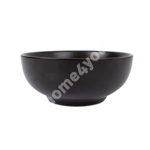 Bowl HERO, D15xH6cm, black