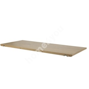 Extension plate MARTE 2pcs, 45x102x2cm, material: solid wood/covered with oak veneer, finish: white pigmented oil