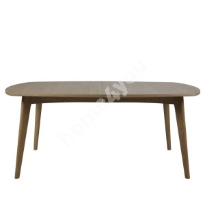 Dining table MARTE 180x102xH76cm, material: solid wood/covered with oak veneer, finish: oiled