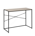 Kirjutuslaud SEAFORD, 100x45xH75cm, materjal: lamineeritud kattega mööbliplaat, värvus: sonoma tamm, jalad: must metall