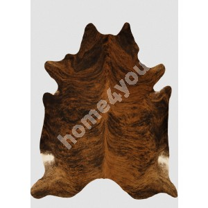 Cowhide EXOTIC 3-4m², 200x210cm, brown-black