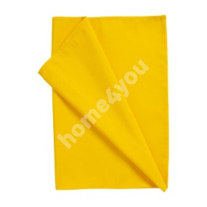 Table mat FIUME COLOUR 43x116 cm, yellow