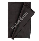 Table mat BLACK HOLLY 43x116cm, black velvet