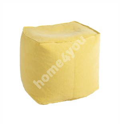 Puff JUTE 55x55xH45cm, yellow
