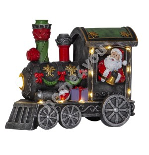 Christmas decoration TRAINVILLE 18x9xH14cm, train with LED-light RGB, taimer 6h