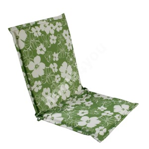 Seat/back cushion FLORIDA 42x90x3cm, fabric 082, 100% polyester
