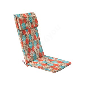 Seat/back cushion SIMPLE 50x120x3cm, 100% polyester, fabric 122
