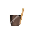 Sauna Bucket RENTO BROWN, 5L