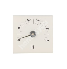Sauna thermometer RENTO WHITE, 15×14×3cm