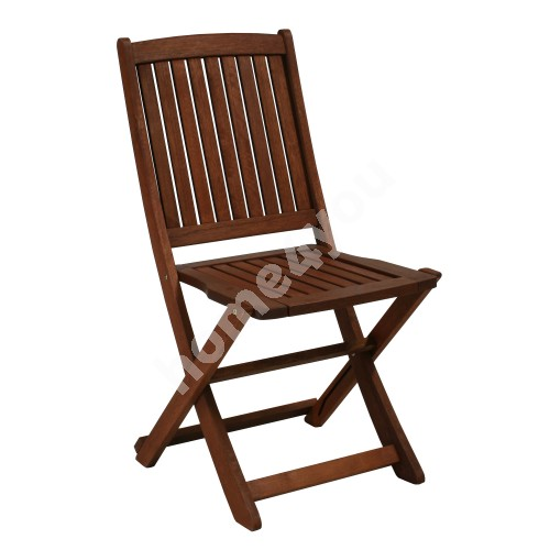 Chair MODENA 47x56,5xH91cm, foldable, wood: meranti, finishing: oiled