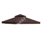 Roof cover for gazebo LEGEND 3x3m dark brown