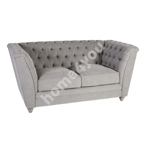 Sofa WATSON 2-seater 171x88xH80cm, cover material: fabric, color: greyish beige