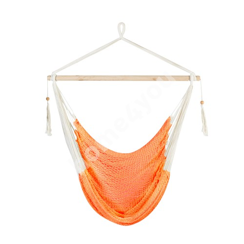 Swing chair CARINA, material: cotton, color: orange