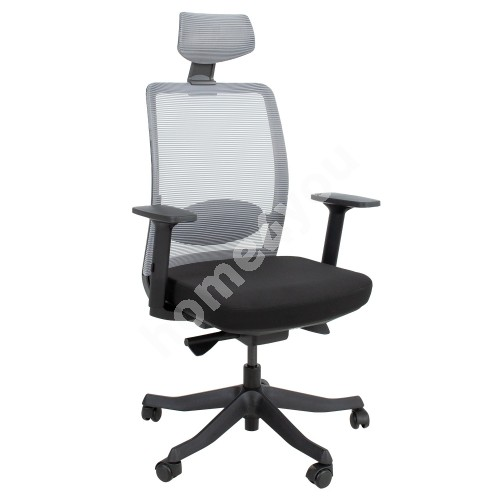 Task chair ANGGUN 70x70xH116-130,5cm, black