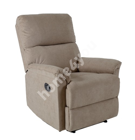 Кресло для отдыха GUSTAV 84x92x104см, материал покрытия: ткань, цвет: тёмно-бежевый