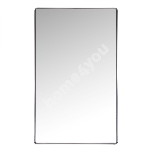 Wall mirror CRYSTAL with safety film 50x80x3,6cm, chromed steel frame