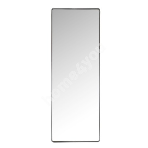 Wall mirror CRYSTAL with safety film 36x100x3,5cm, chromed steel frame
