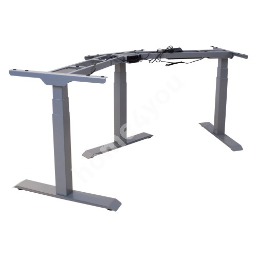 Table leg ERGO electric adjustable 3 in one