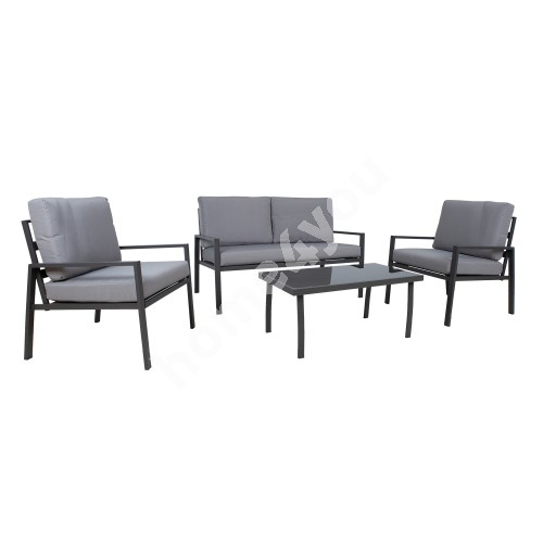 Garden furniture set TIFTON table, sofa and 2 chairs