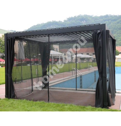 Москитная сетка для шатра MIRADOR 3x3м 19460, черная / 4шт