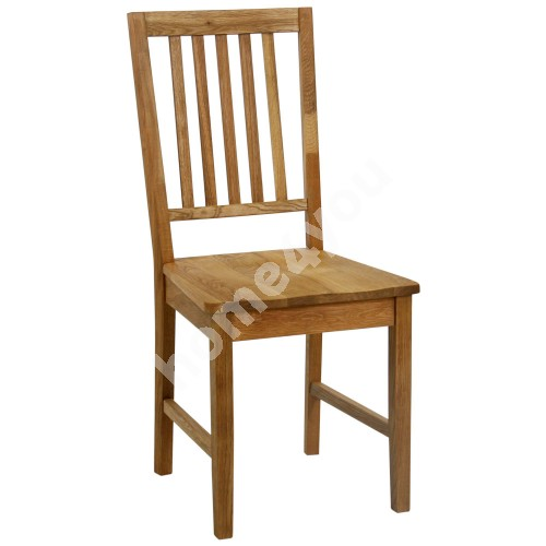 Chair GLOUCESTER 43xS42xH94cm, wood: oak, finishing: oiled