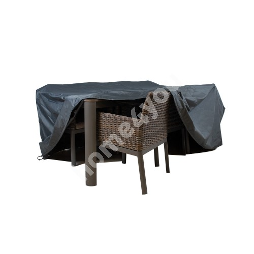 Furniture cover D220x85cm, weatherproof