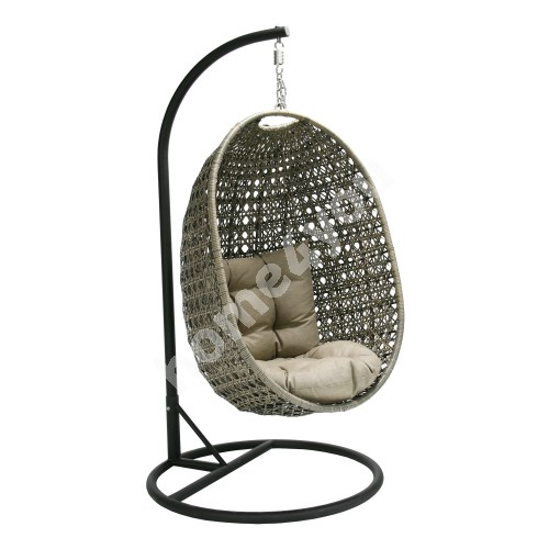 Hanging chair CORA grey