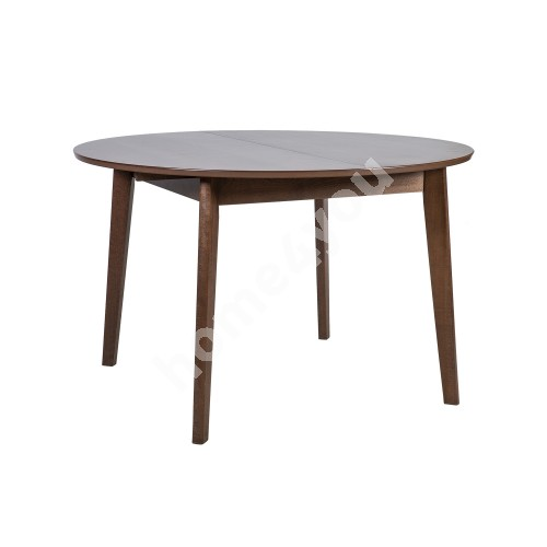 Dining table ADELE D120+30xH75cm