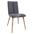 Chair NOVA 59x53,5xH92cm, dark grey