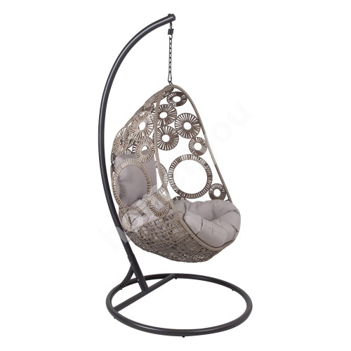 Hanging chair RONDO beige