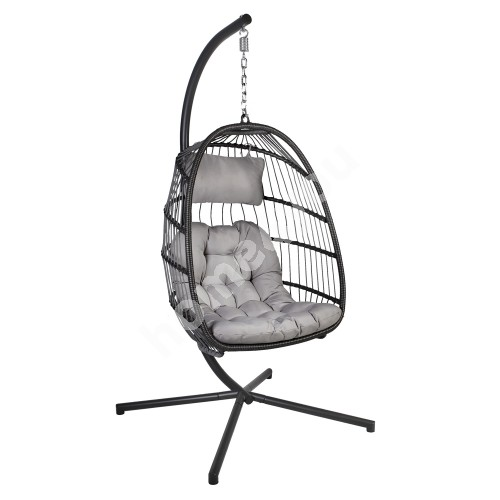 Hanging chair YOYO grey