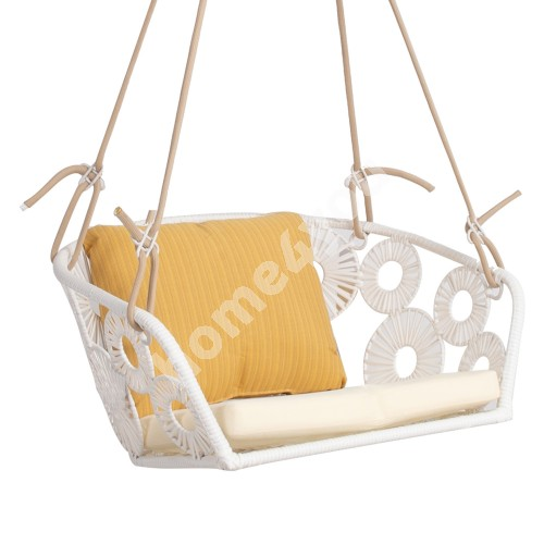 Hanging chair RONDO white