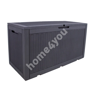Ящик для хранения SAYA 380L, серый
