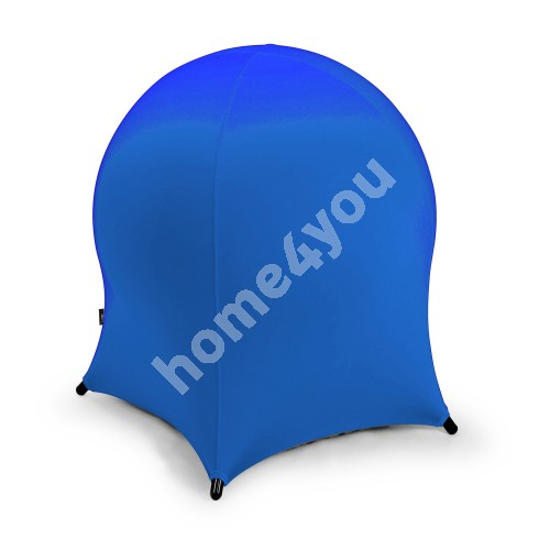 Ball chair JELLYFISH 55x55xH63cm, inflatable rubber ball on metal frame, cover: polyester / spandex, color: blue