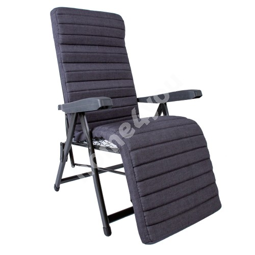 Deck chair DOLOMITI grey