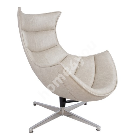 Кресло GRAND EXTRA 86x84xH96см, ткань серого цвета