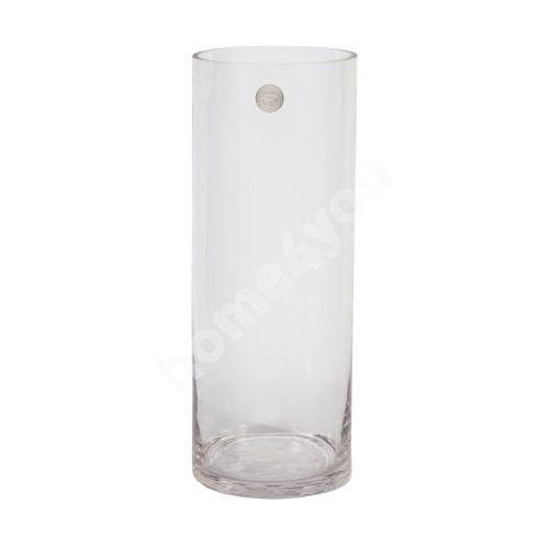 Vase IN HOME D15xH40cm, clear glass